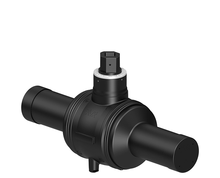 Ball valve for fire protection